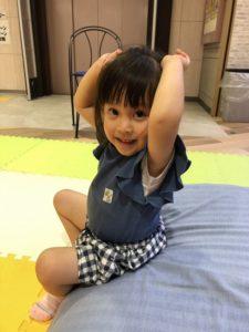 9月の親子体操イメージ